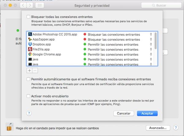 Cómo configurar el cortafuegos o firewall y proteger tu Mac - Image 4 - professor-falken.com