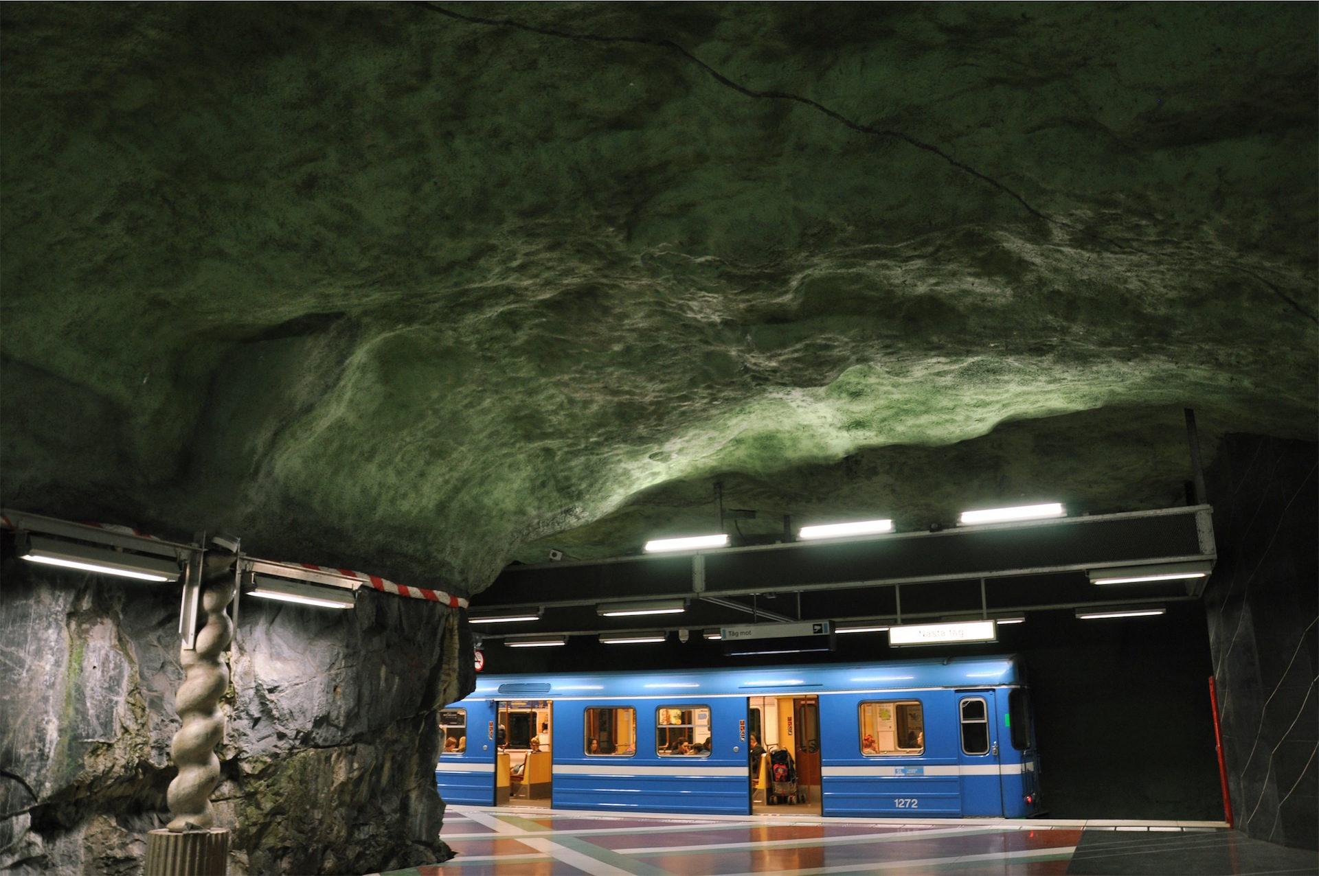 Σταθμός, Μετρό, σήραγγα, Βουνό, Πέτρα - Wallpapers HD - Professor-falken.com
