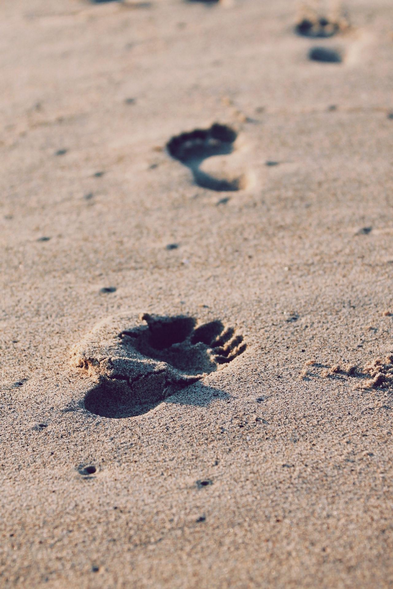 πατημασιές, χνάρια, Άμμος, Παραλία, πόδια - Wallpapers HD - Professor-falken.com