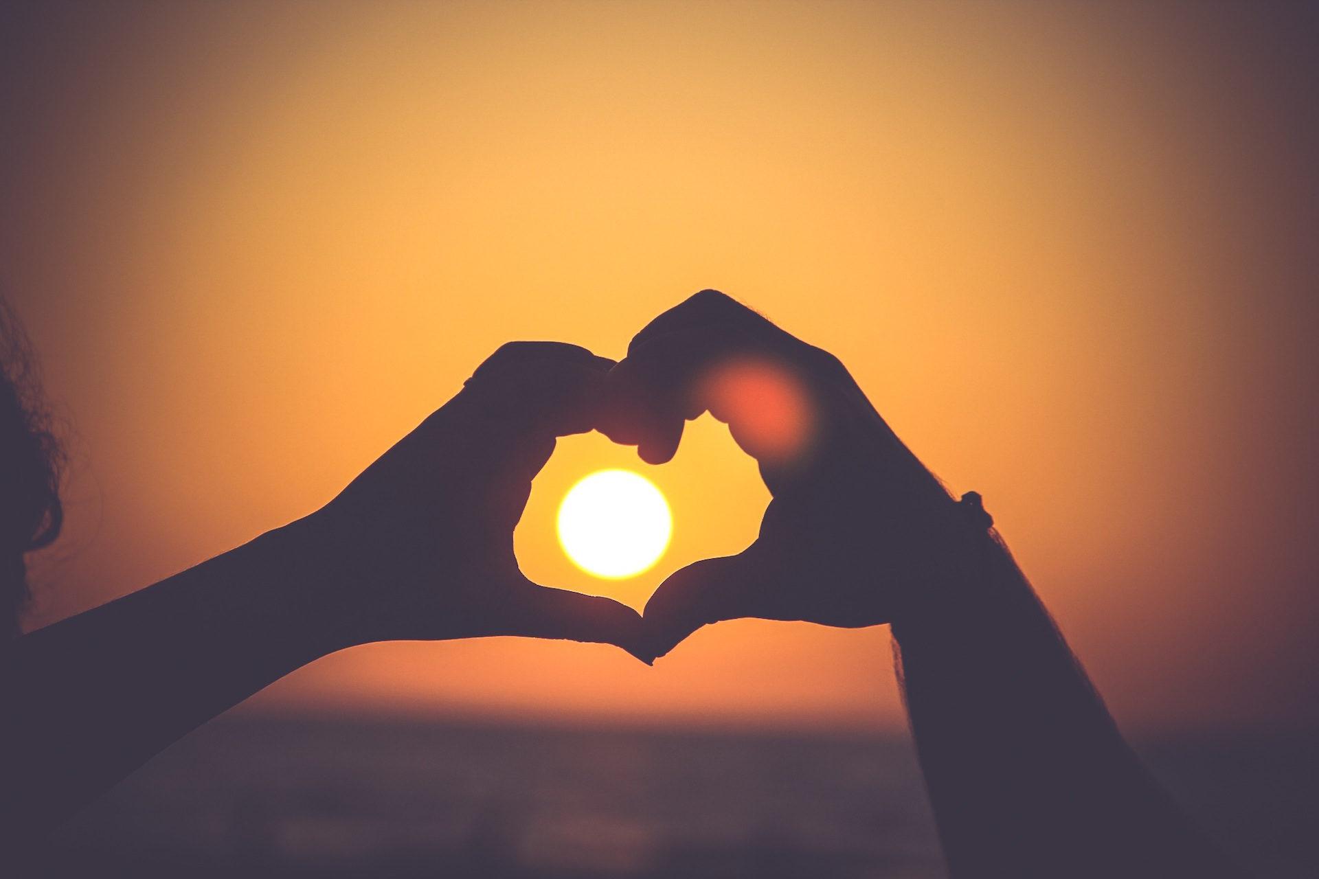 mani, Forme, cuore, Sole, Tramonto - Sfondi HD - Professor-falken.com