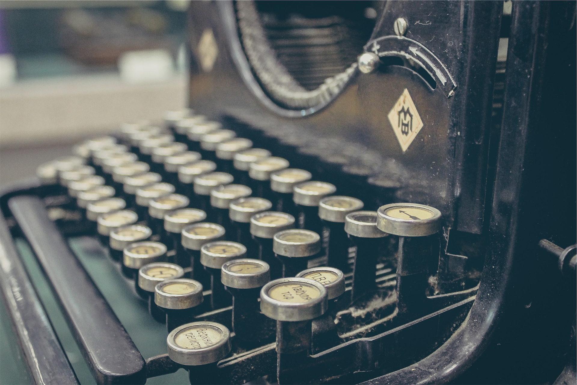 machine, Écrire, clés, vieux, Vintage - Fonds d'écran HD - Professor-falken.com