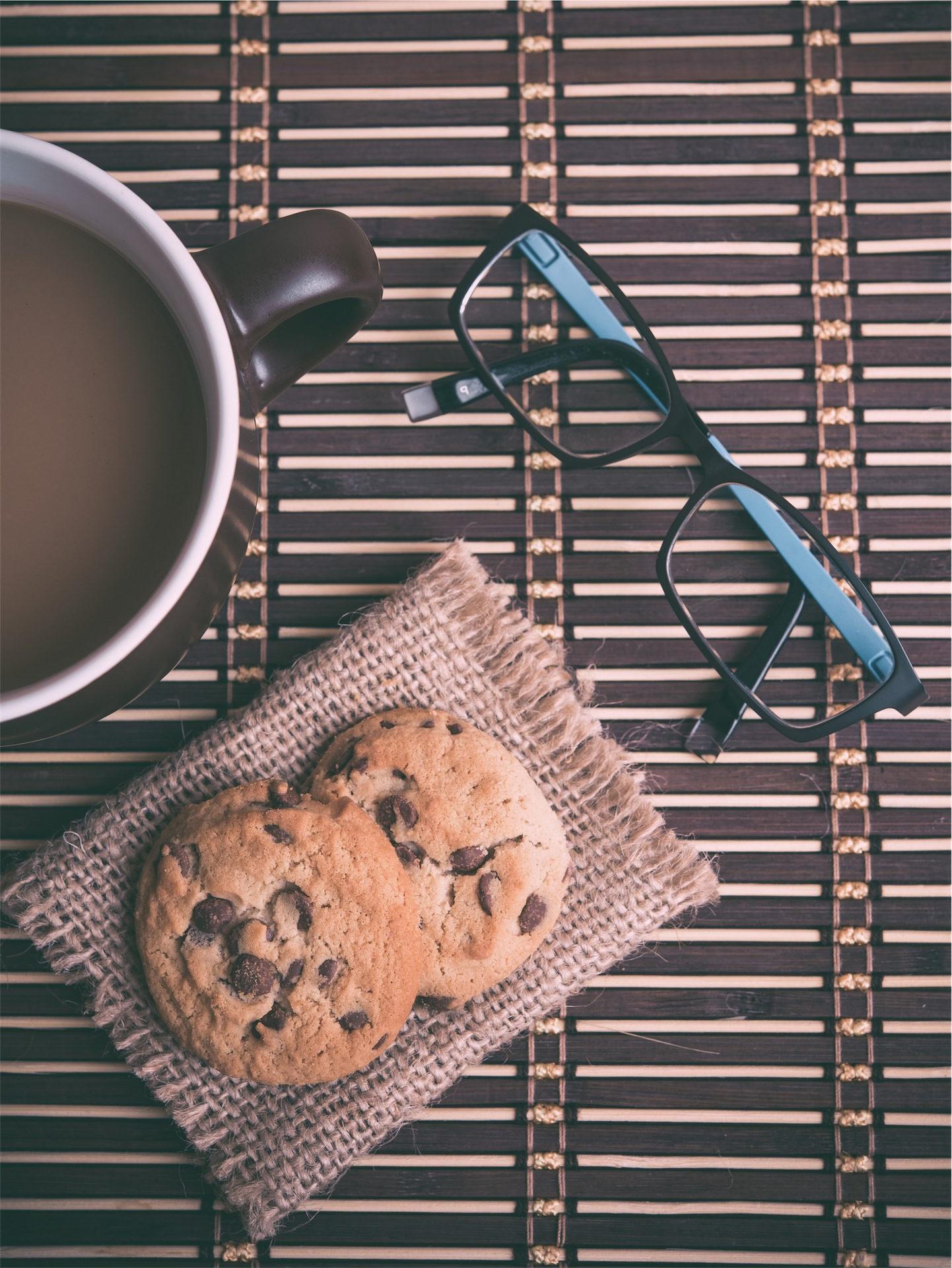 Coupe, café, Cookies, lunettes de soleil, le petit déjeuner - Fonds d'écran HD - Professor-falken.com