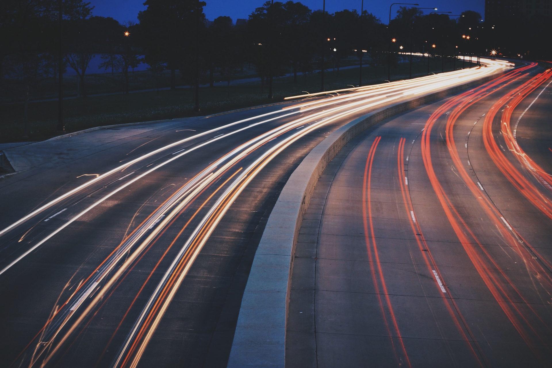 交通, 晚上, 汽车, 灯, 晕 - 高清壁纸 - 教授-falken.com