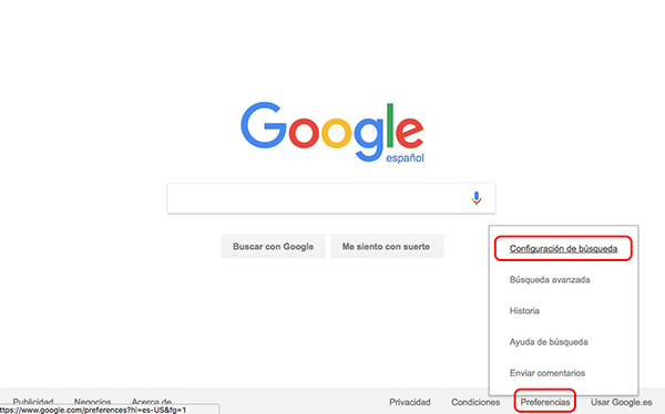 Google での検索の 1 ページあたりの結果の数を増やす方法 - イメージ 1 - 教授-falken.com