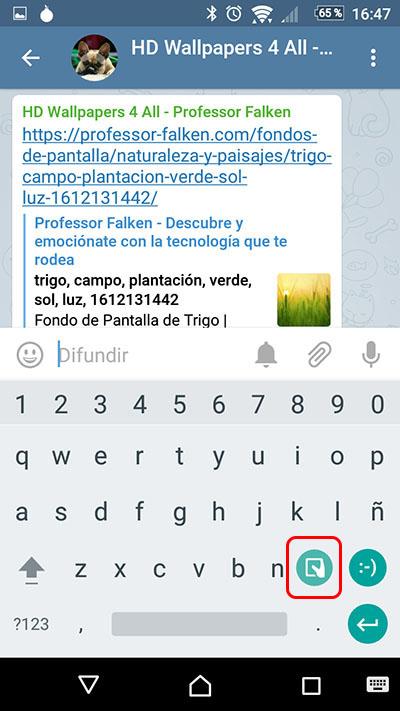 Wie jetzt die Tastatur von Google GBoard - Bild 2 - Prof.-falken.com