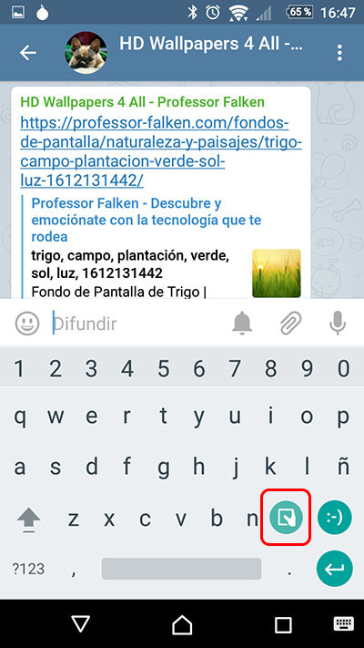 Comment obtenir Google GBoard clavier maintenant - Image 2 - Professor-falken.com