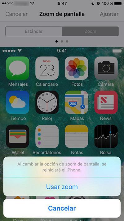 Πώς να aumentar el μέγεθος de los iconos de tu iPhone - Εικόνα 5 - Professor-falken.com