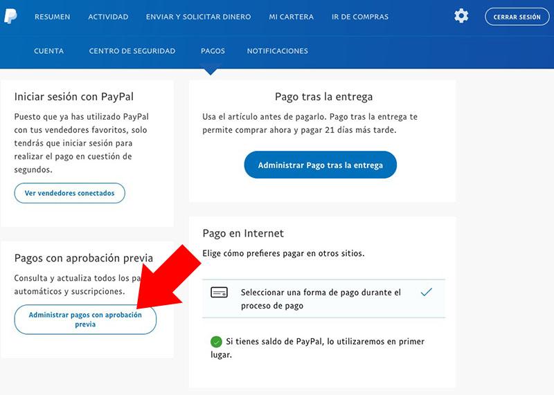 रद्द या आवधिक भुगतान पेपैल में अक्षम करने के लिए कैसे - छवि 3 - प्रोफेसर-falken.com