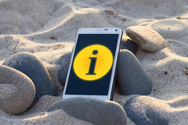 Como colocar uma mensagem informativa na sua tela do fechamento Android - Professor-falken.com