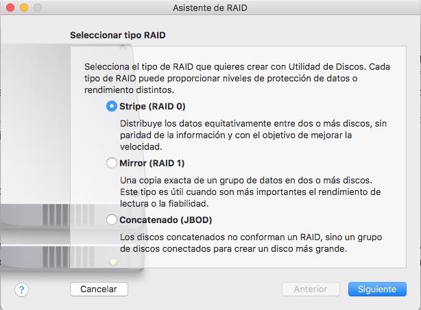 Come impostare un sistema RAID per macOS Sierra software - Immagine 3 - Professor-falken.com