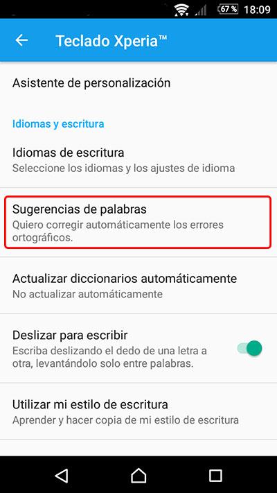 Cómo desactivar, o activar, el texto predictivo y autocorrector en tu Android - Image 3 - professor-falken.com