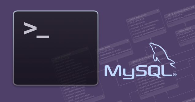 如何导出和导入 MySQL 数据库从命令行 - 教授-falken.com