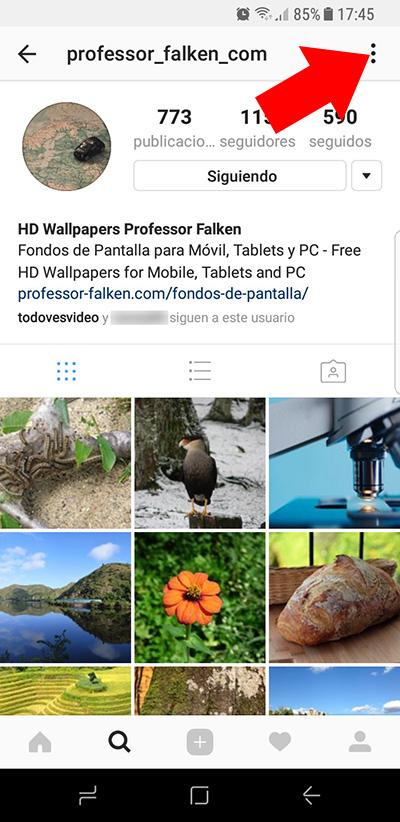Instagram の上誰かを発行したときに通知を受け取る方法 - イメージ 1 - 教授-falken.com