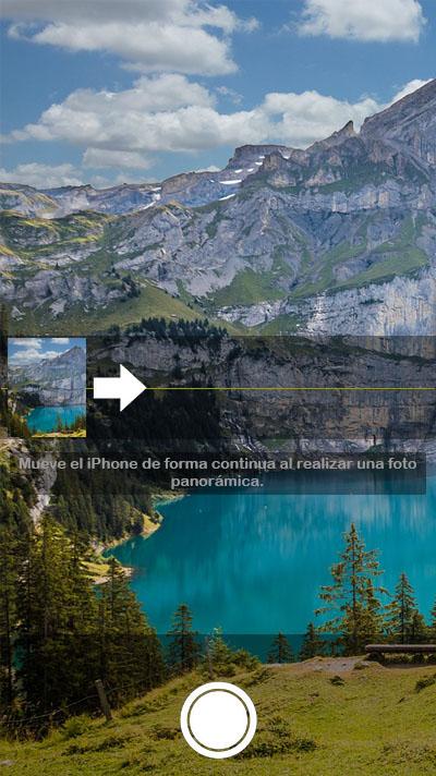 Cómo cambiar el sentido de toma en las fotos panorámicas en tu iPhone - Image 1 - professor-falken.com