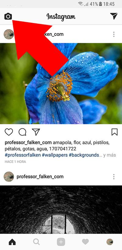 Cómo transmitir un vídeo en directo en Instagram desde tu móvil - Image 1 - professor-falken.com