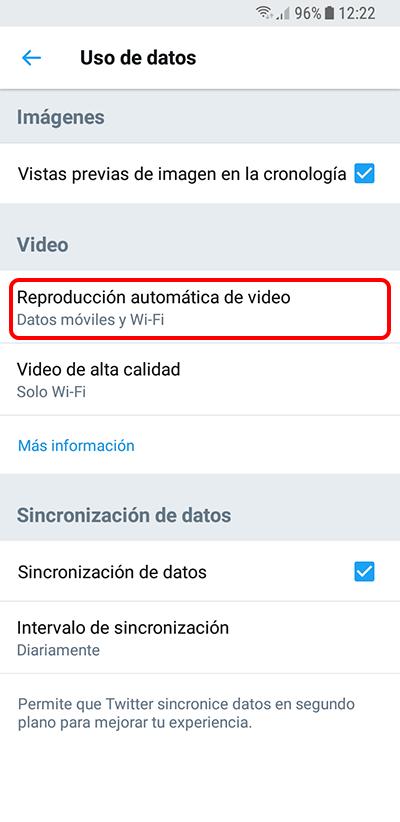 Come disattivare AutoPlay di video da Twitter sul tuo Android - Immagine 4 - Professor-falken.com
